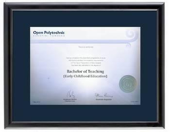 Open Polytechnic Degree 28mba423 CONSERVATION