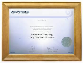 Open Polytechnic Degree 63rs