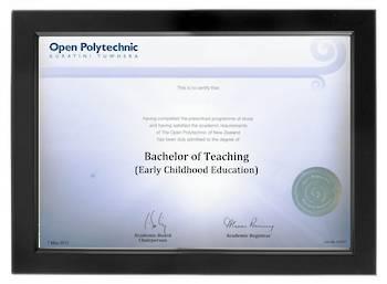Open Polytechnic Degree 699sb CONSERVATION