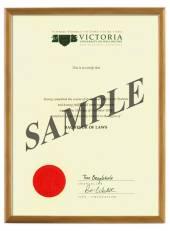 Victoria Degree 103hon