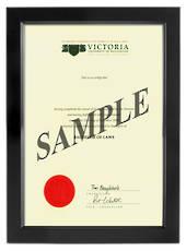 Victoria Degree 699sb