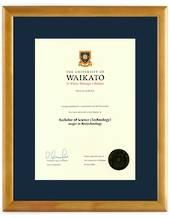 Waikato Degree 28hona423 CONSERVATION