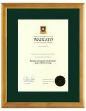 Waikato Degree 28hon8447 CONSERVATION