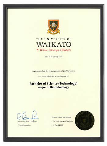 Waikato Degree 1031p