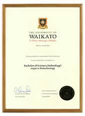 Waikato Degree 103hon CONSERVATION