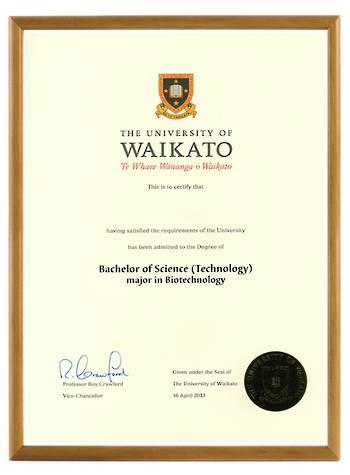 Waikato Degree 103hon