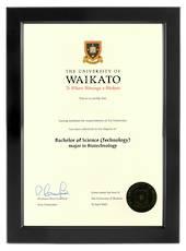 Waikato Degree 699sb CONSERVATION