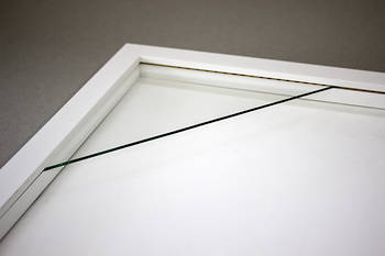600x600mm Square White Box Frame 52