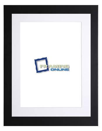 A1 Black Frame White Mat 405b228
