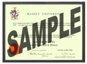 Massey Uni Degree 1031p CONSERVATION