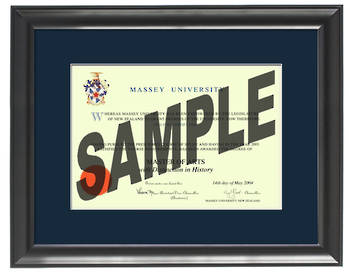 Massey University Degree 63sb837