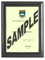 Auckland University Degree 63sb CONSERVATION