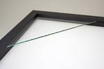 400x400mm Square Black Box Frame 52
