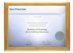 Open Polytechnic Degree 28hon CONSERVATION