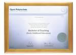Open Polytechnic Degree 28hon