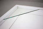 4x6 2-Window White Box Frame White Mat 52sw