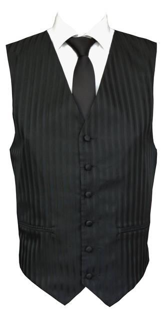 Black Monaco Waistcoat