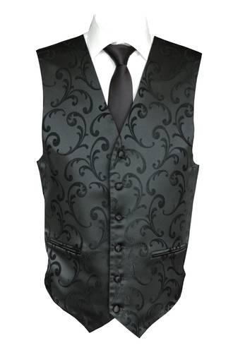 Black Napoleon Waistcoat