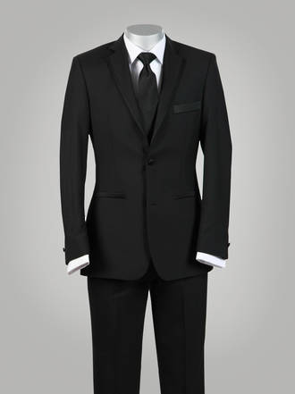 Brooklyn Suit - Black tie / Formal