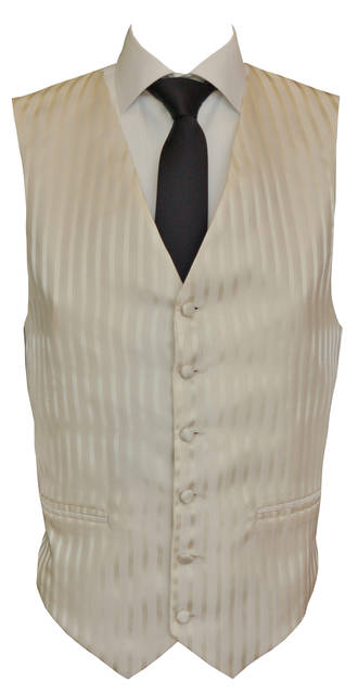 Cream Monaco Waistcoat