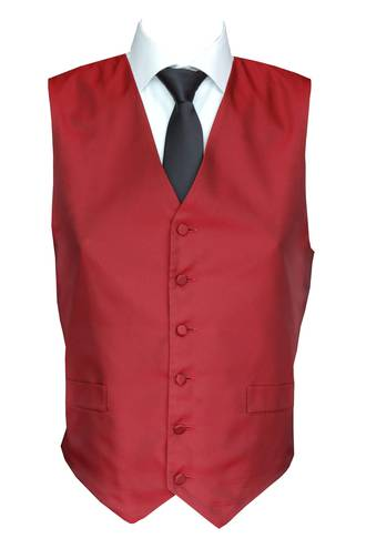 Red Windsor Waistcoat