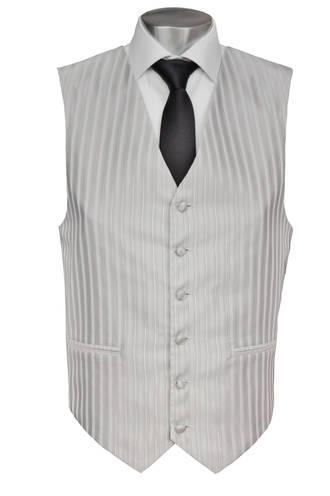 Silver Monaco Waistcoat