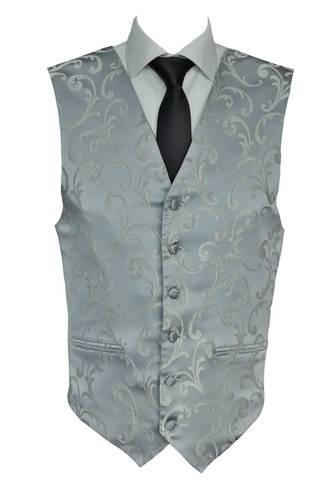 Silver Napoleon Waistcoat