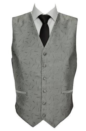Silver Paris Waistcoat