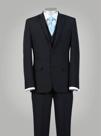 Truman Navy Slim fit Suit