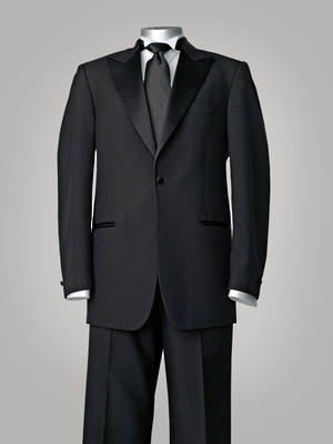 European dinner suit