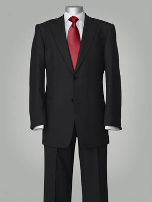 Kingston Black Slim Fit Suit