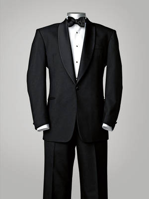 Milano Suit - Black tie / Formal