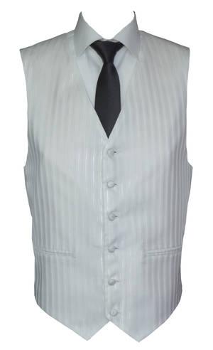 White Monaco Waistcoat