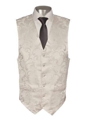 White Napoleon Waistcoat