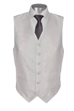 White Paris Waistcoat