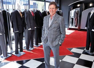 Frank Casey Suit Hire
