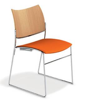 915 Beech Seat Upholstered