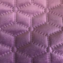 Veronia Quilted Velour - Polyester/Spandex