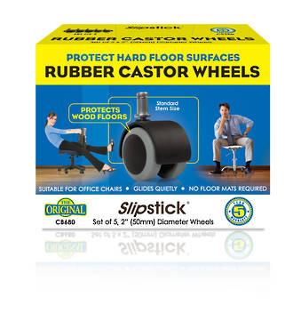 50mm Rubber Castor Wheels