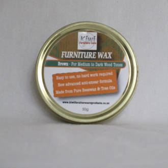 Furniture Wax Brown 50g