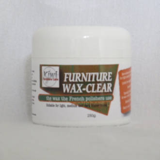 Furniture Wax Clear 250g