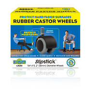 50mm Rubber Castor Wheels