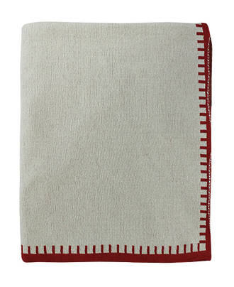 21176T Blanket Stitch - Chilli Red/Fawn