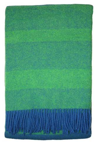 21191T Edmonton Throw - Blue/Green