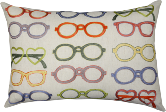21333C Embroidered Spectacles - Multi