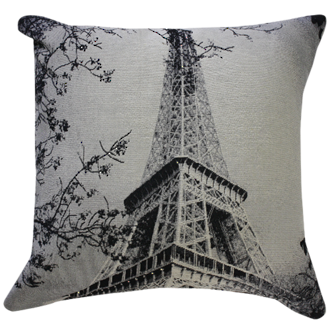 22862C Eiffel Love - Black/Cream