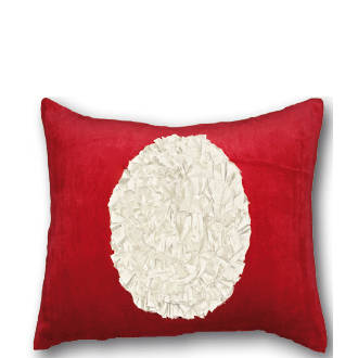 2626C Velvet Bloom - Red/Cream