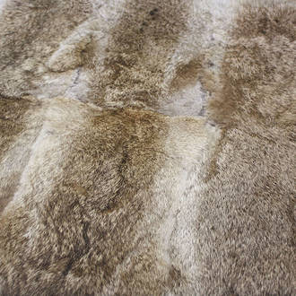 3162T Rabbit Fur - Natural Straw