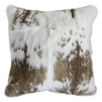 3164C | 3164FC Mottled Rabbit Fur - Straw-White