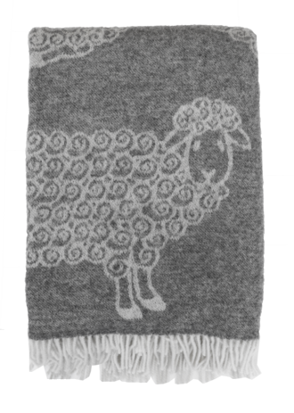 23707T Woolly Lamb - Grey